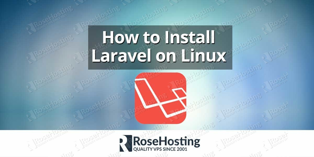 How to install laravel on linux