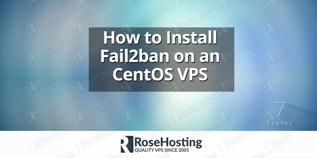 Install Fail2ban on CentOS