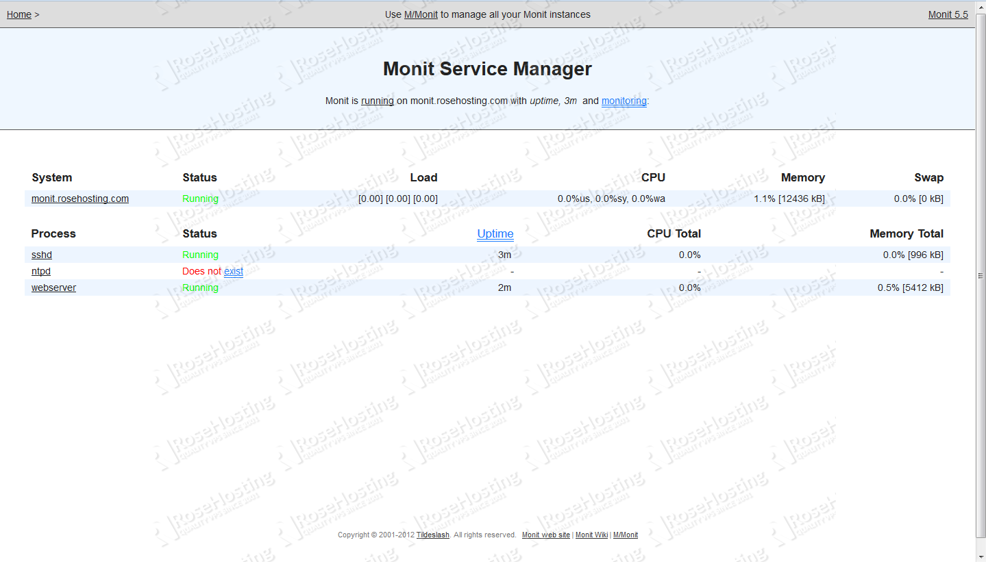 How to install Monit on your CentOS6 VPS