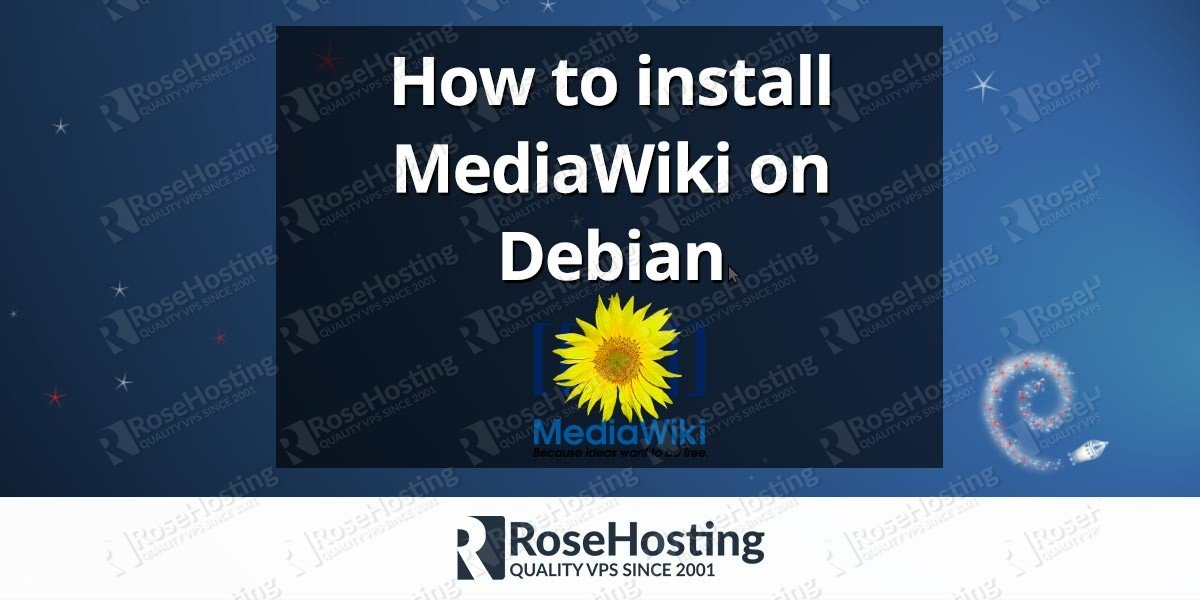 How to install MediaWiki on Debian