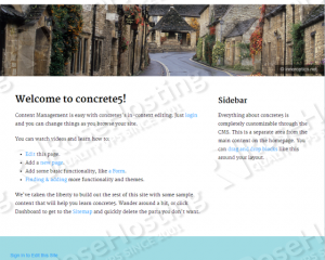 concrete5 website