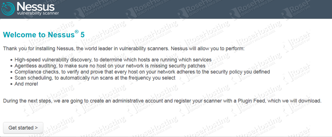 Install Nessus Vulnerability Scanner on CentOS | RoseHosting