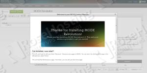 modx install