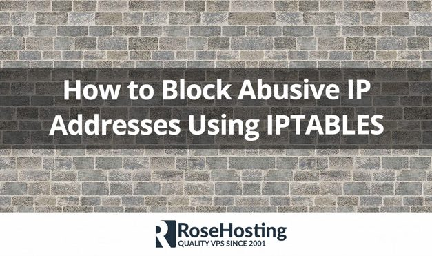Iptables Block IP