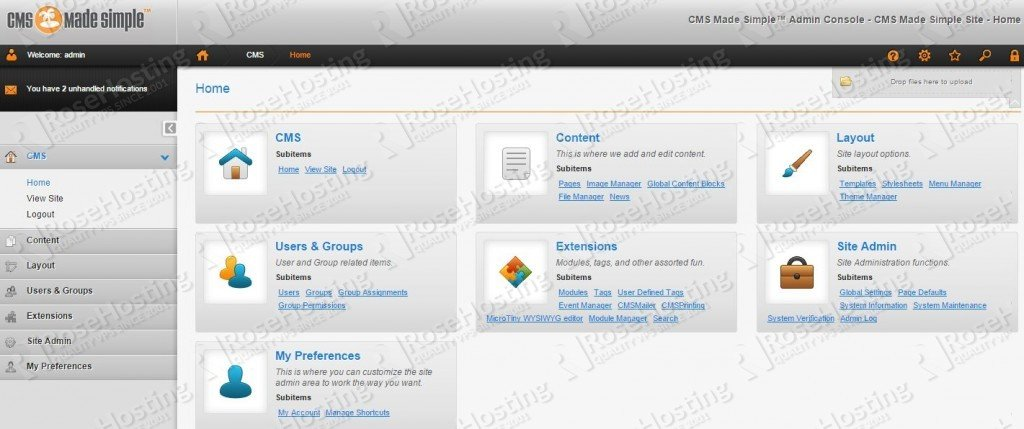 cms made simple vps