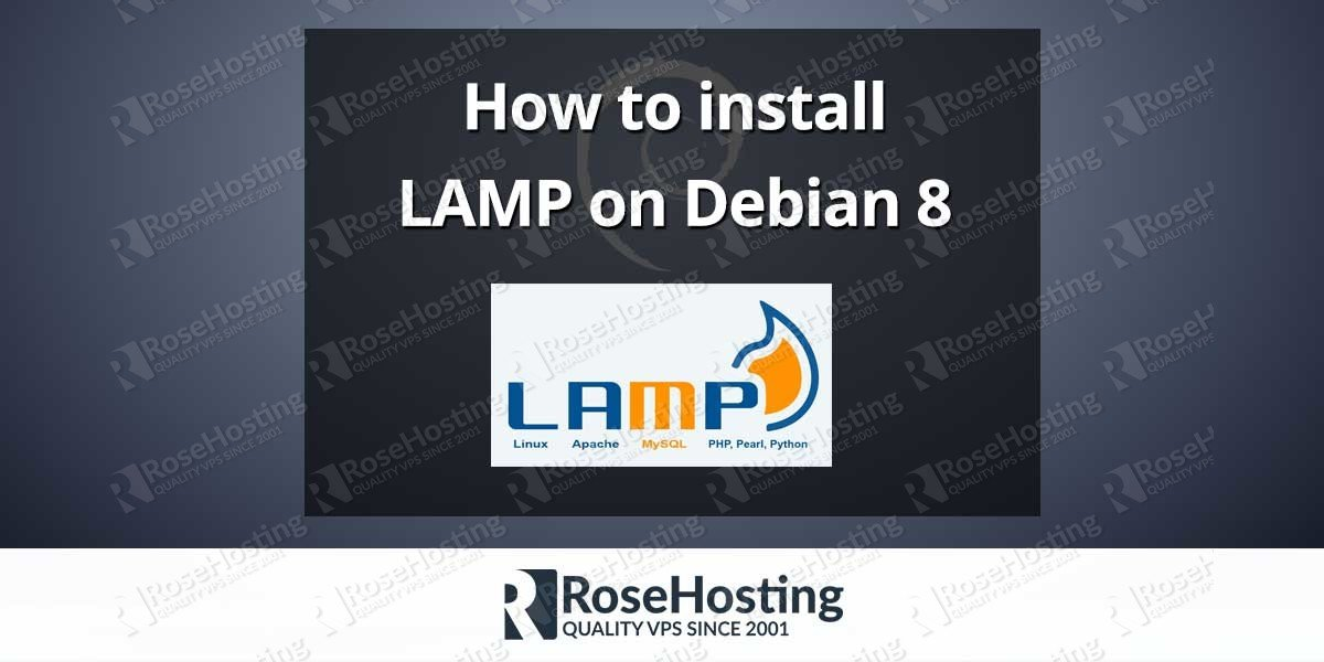 How to install LAMP on Debian 8