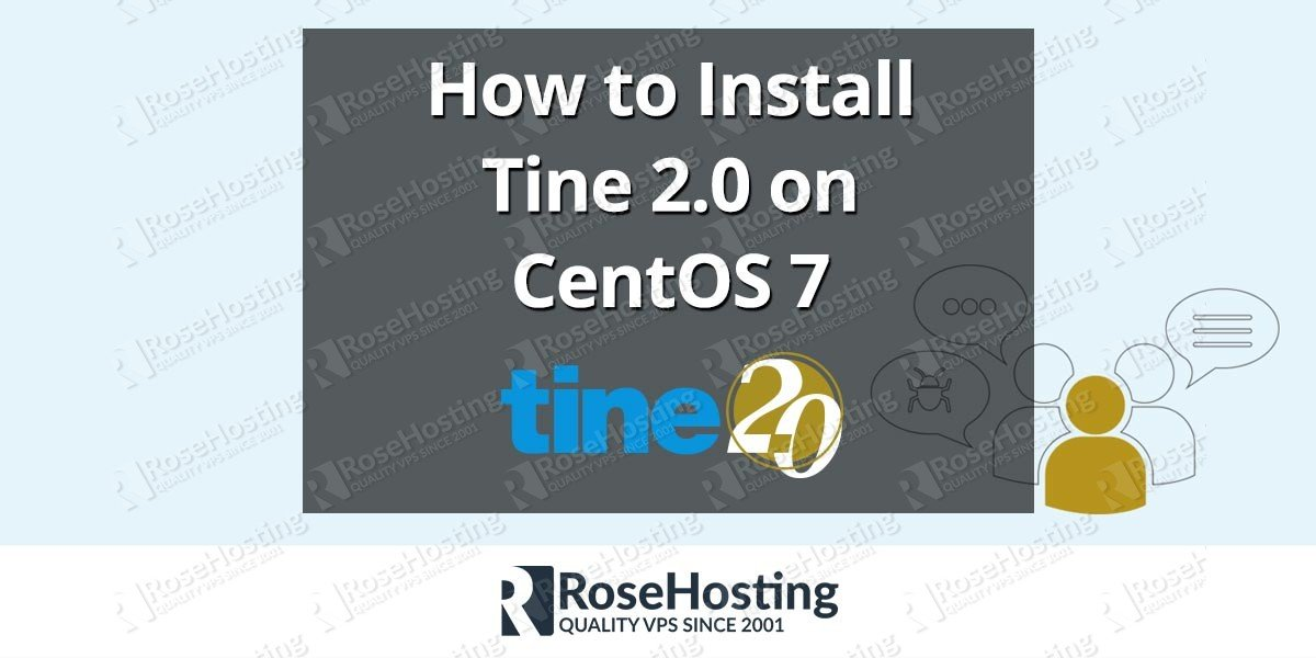 How to Install Tine 2 0 on CentOS 7 | RoseHosting