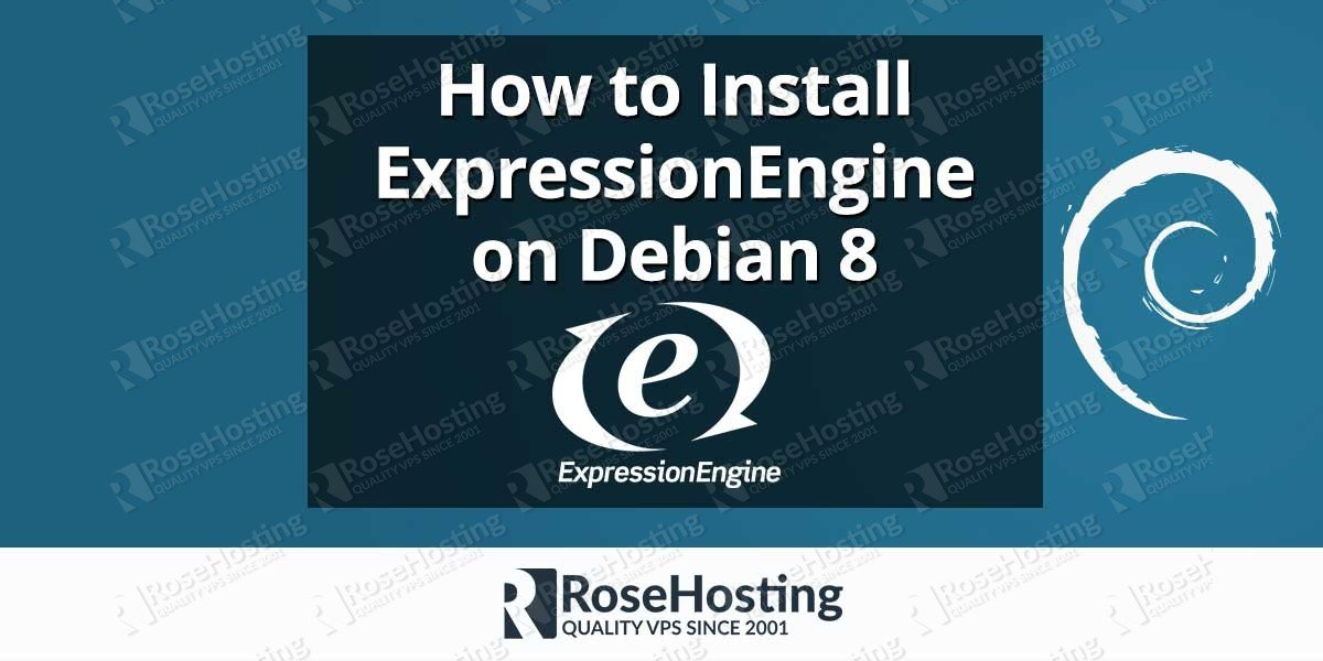 Install ExpressionEngine on Debian