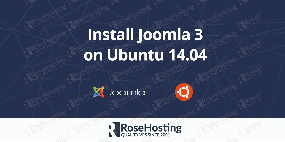 How to install Joomla 3 on Ubuntu 14.04