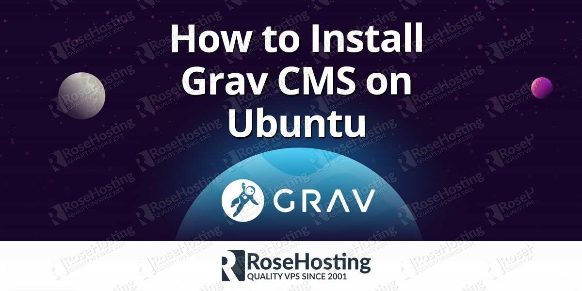 Install Grav CMS on Ubuntu