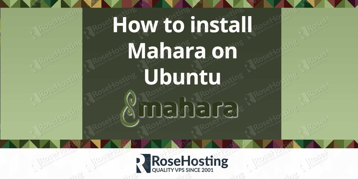 How to install Mahara on Ubuntu