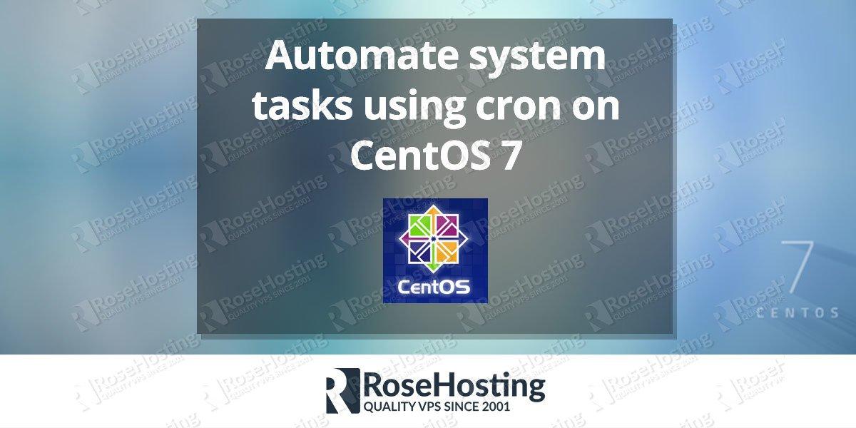 CentOS crontab – Automate System Tasks