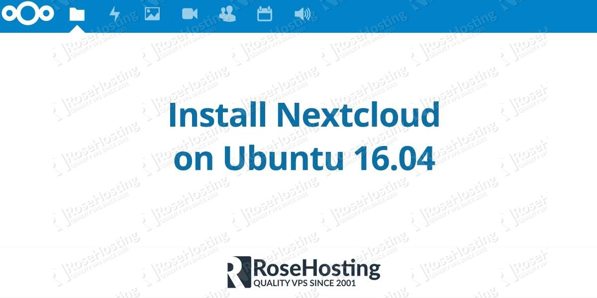 Install Nextcloud 9 on Ubuntu 16.04