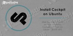 cockpit cms on ubuntu 16.04