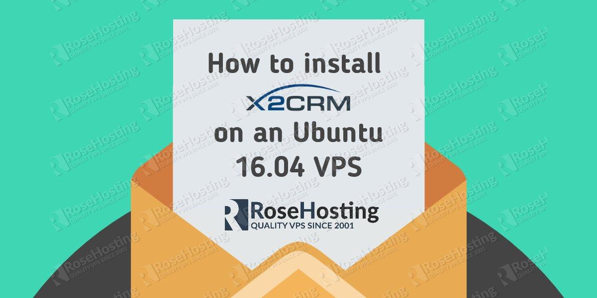 x2crm on ubuntu 16.04