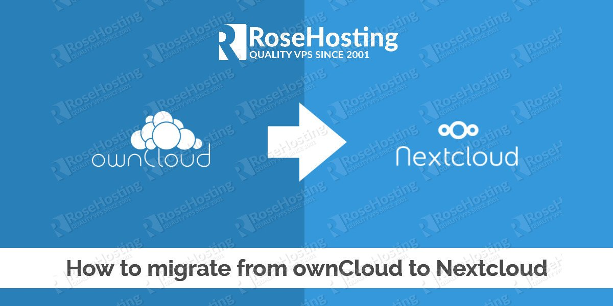How to migrate from ownCloud to Nextcloud