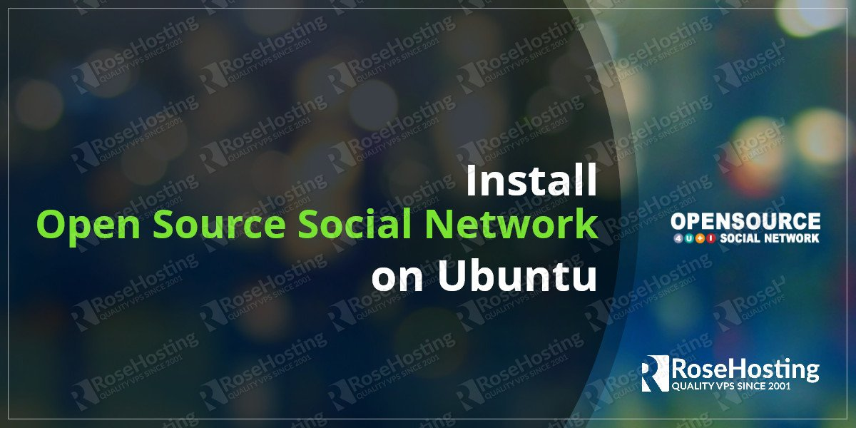 Install Open Source Social Network on Ubuntu 16.04