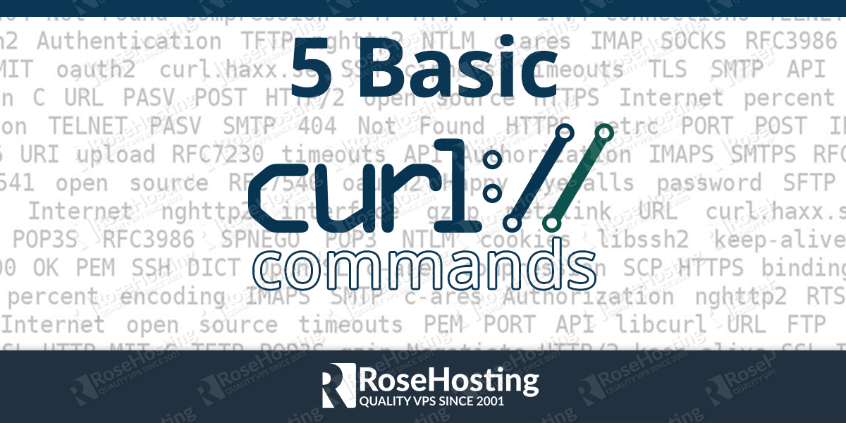 Basic cURL command examples