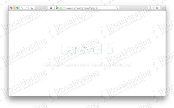 Install Laravel on Ubuntu 16 04 | RoseHosting