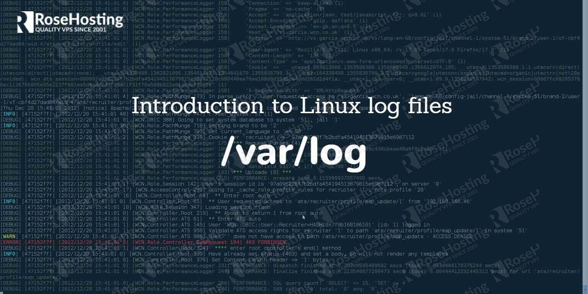 Linux Log Files