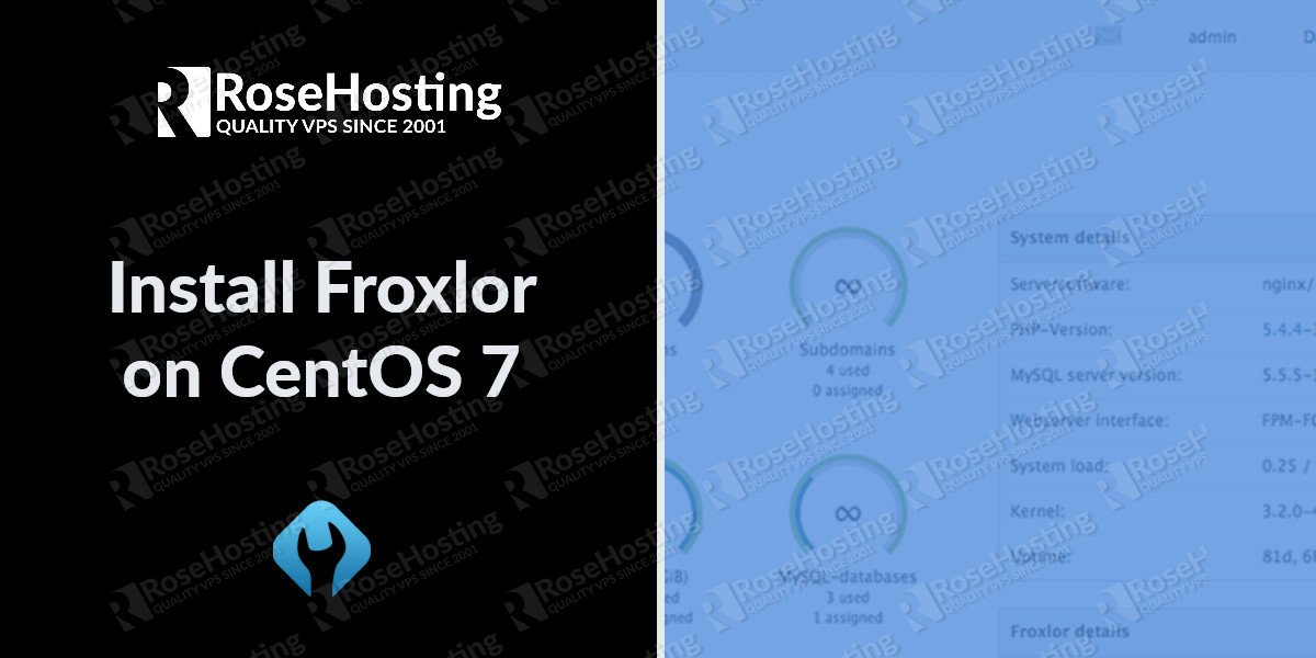 froxlor on centos 7