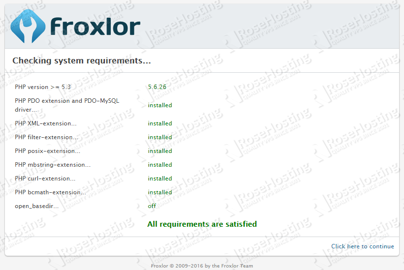 how to Install Froxlor on CentOS