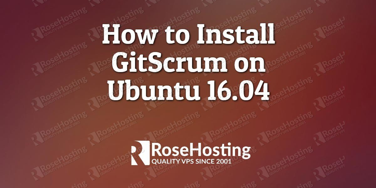 How to Install GitScrum on Ubuntu 16.04