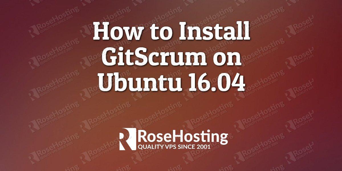 gitscrum ubuntu