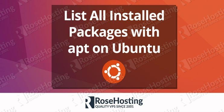 Apt get list installed packages | Ubuntu list installed packages