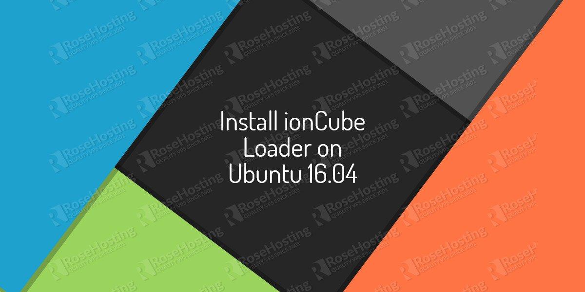 ioncube loader on ubuntu