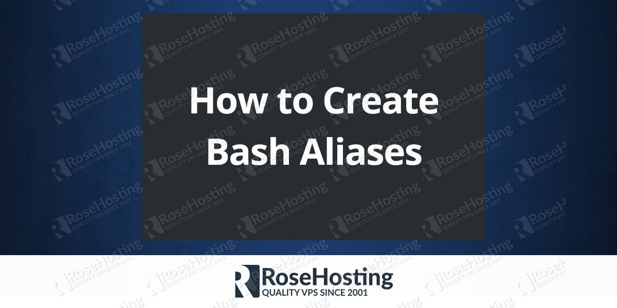 How to Create Bash Aliases