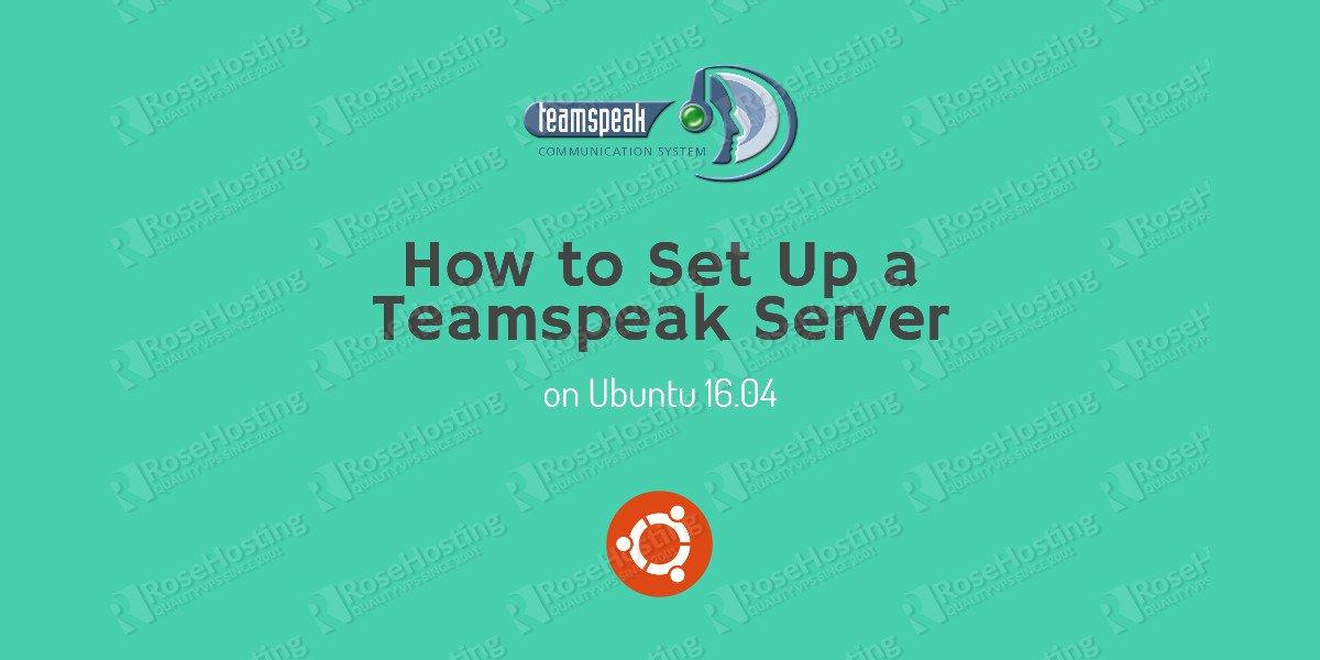 teamspeak server ubuntu