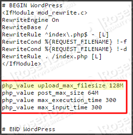 The uploaded file exceeds the upload_max_filesize directive in php.ini