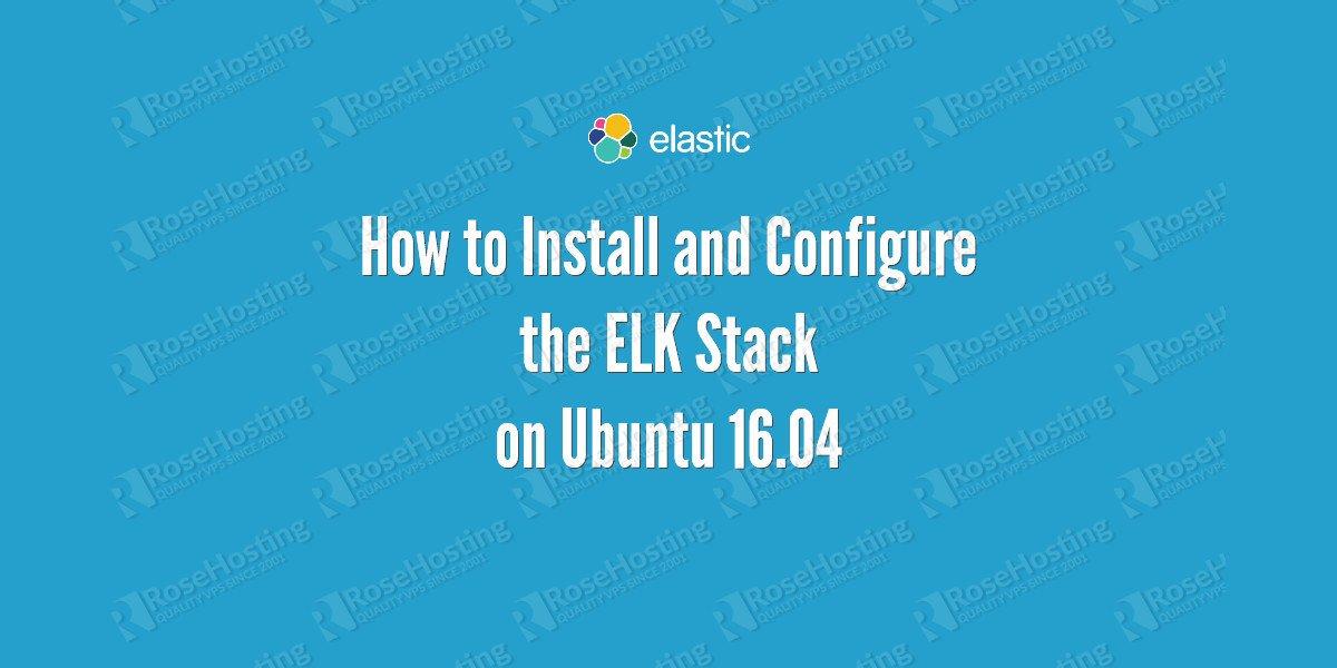 elk stack on ubuntu 16.04