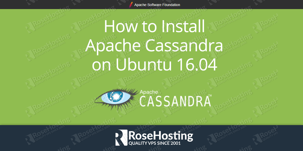 How to Install Apache Cassandra on Ubuntu 16.04