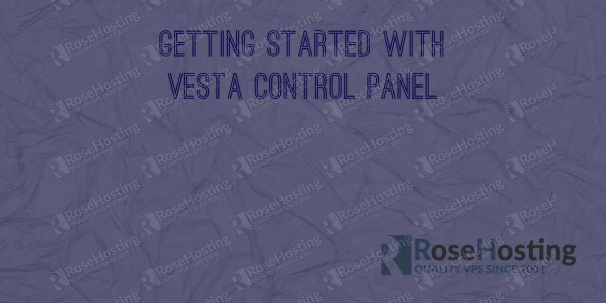 Getting started with Vesta Control Panel