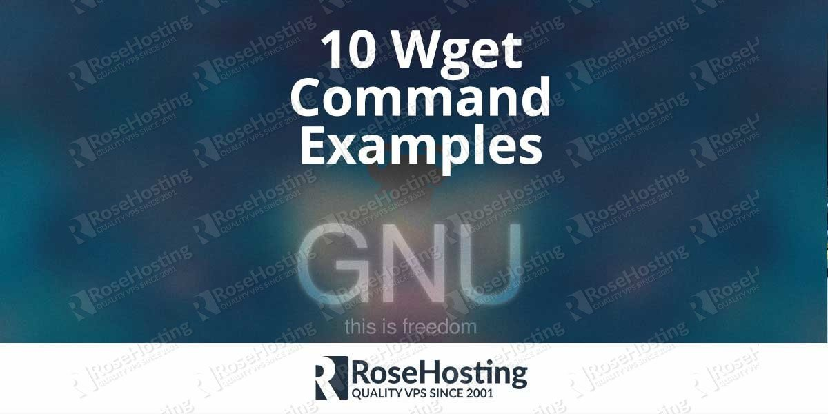 Wget Command Examples