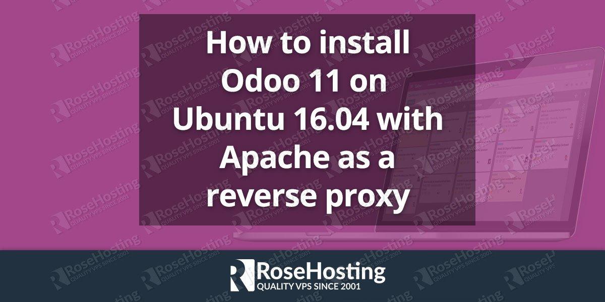 install Odoo 11 on Ubuntu 16.04
