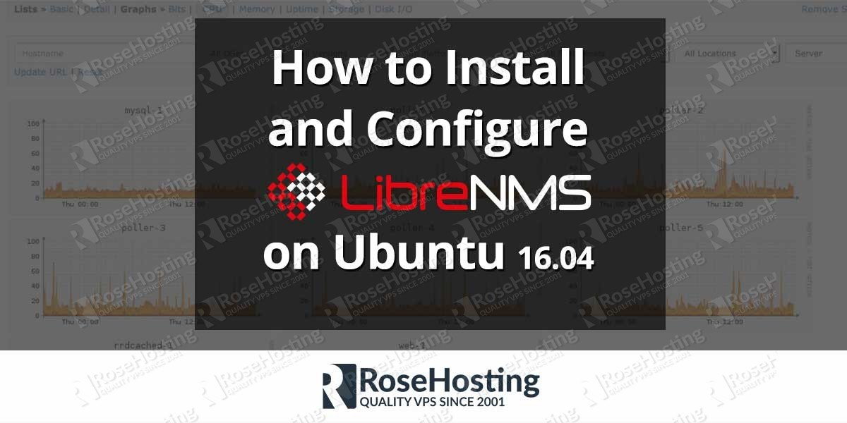 How to Install and Configure LibreNMS on Ubuntu 16.04