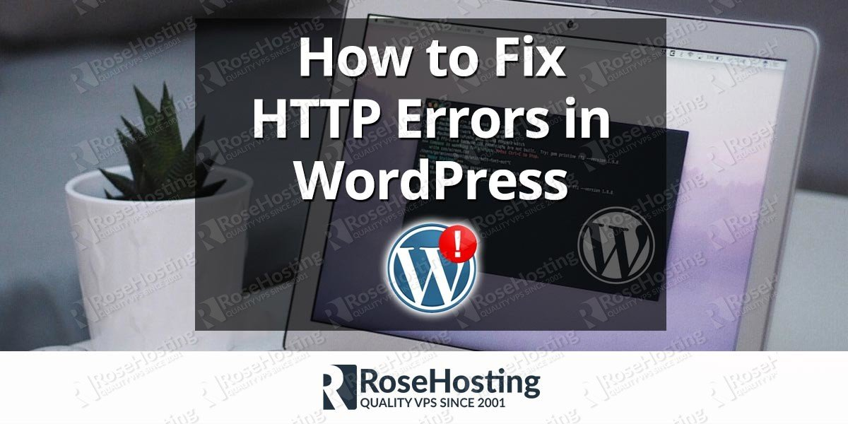 HTTP errors in WordPress