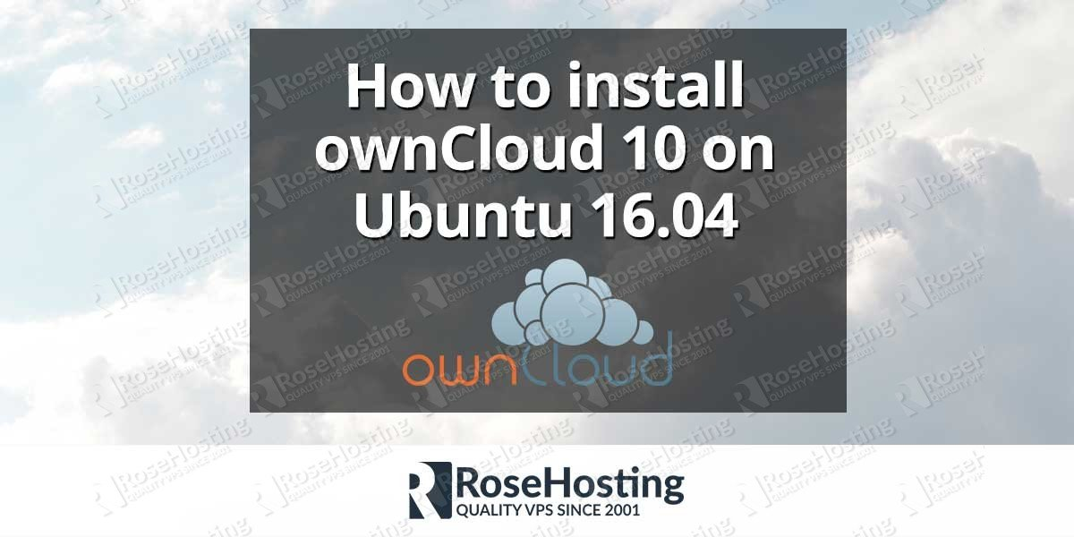 How to install ownCloud 10 on Ubuntu 16.04