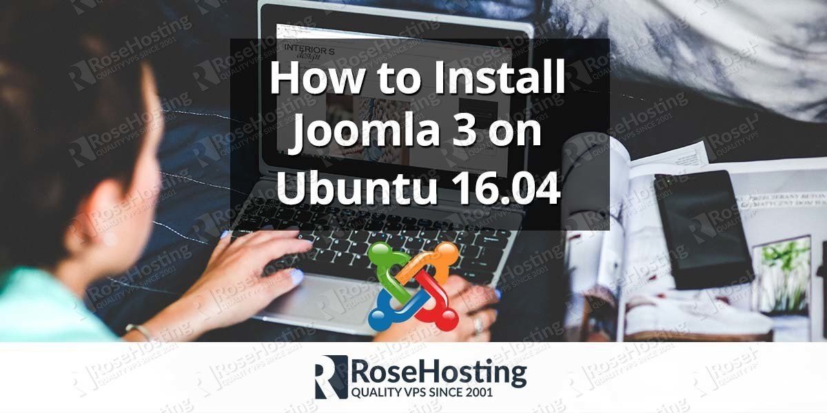 How to install Joomla 3 on Ubuntu 16.04