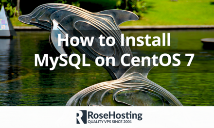 How to Install MySQL on CentOS 7