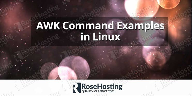 awk command examples in linux