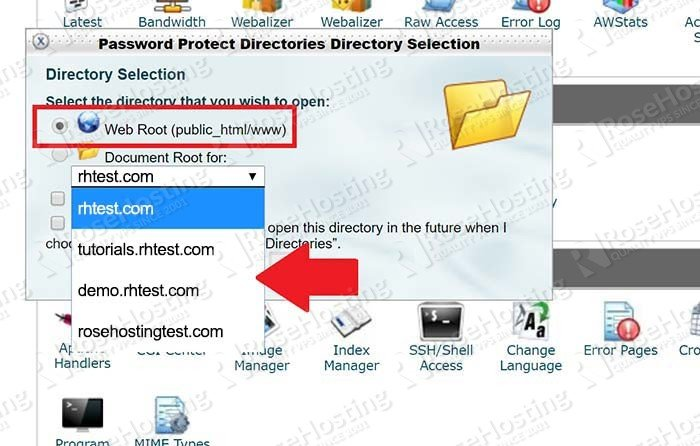 How To Password Protect a Directory in cPanel