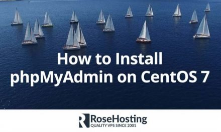 How to Install phpMyAdmin on CentOS 7