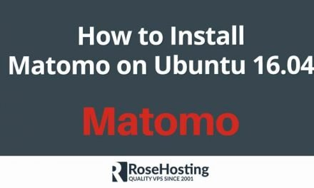 How to Install Matomo on Ubuntu 16.04