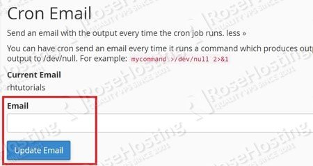 How to Schedule Cron Jobs in cPanel | RoseHosting