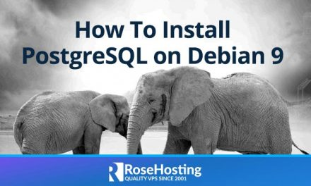 How To Install PostgreSQL on Debian 9