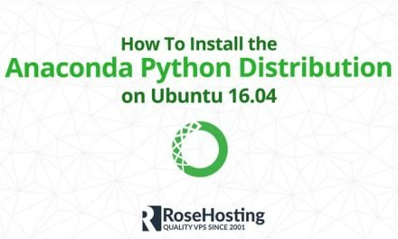 How To Install the Anaconda Python Distribution on Ubuntu 16.04